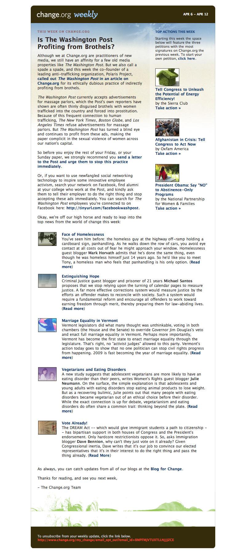 ChangeOrg-Newsletter-0409 email