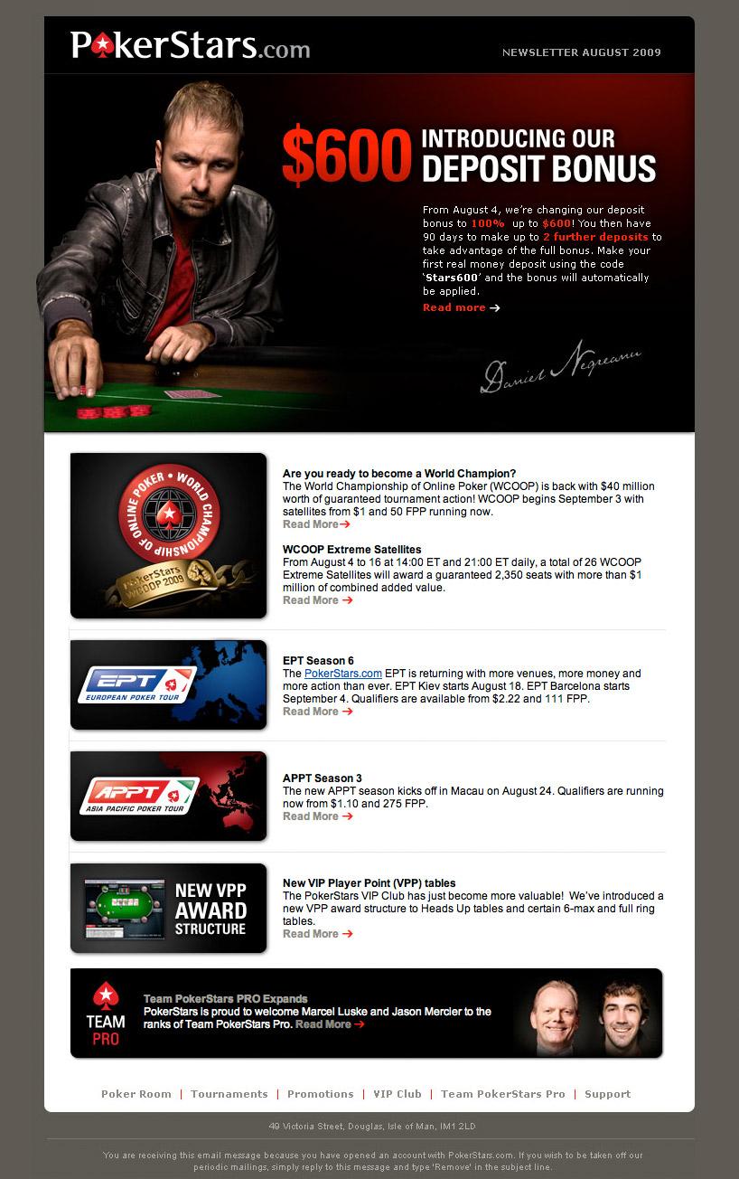 pokerstars deposit bonus